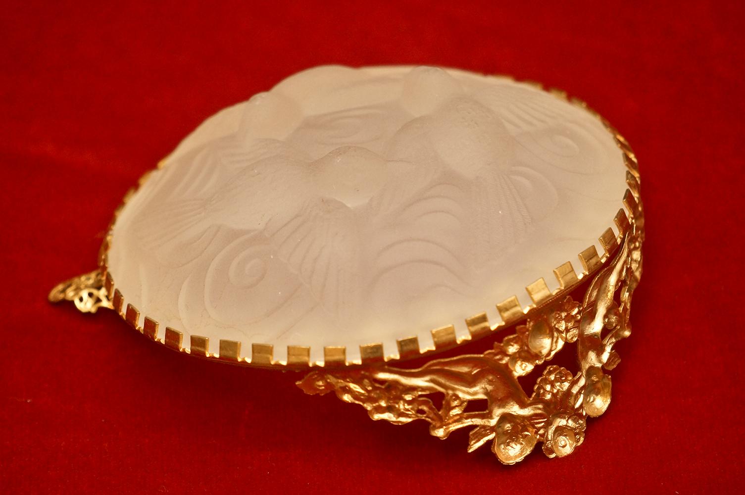 グローブ製 ゴールド 天使 アシュトレーⅡ 裏側