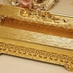 マトソン製 ゴールド ローズ エレガントティッシュボックス