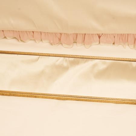 スタイルビルト製 ゴールド リボン 長方形 バニティミラートレー