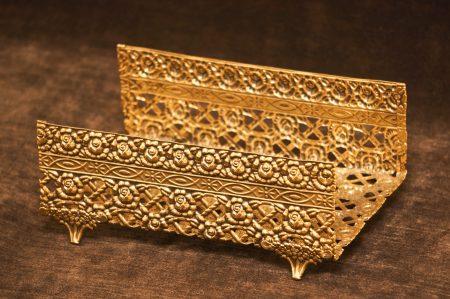 グローブ製 ゴールド ローズ タオルホルダー