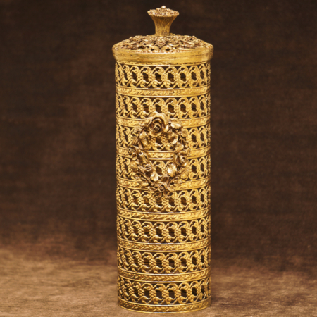 マトソン製 ゴールド ローズリース スプレーボトルカバー
