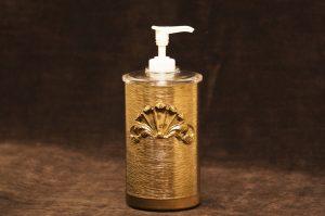 スタイルビルト製 ゴールド シェル ソープボトル