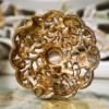 ゴールド マトソン製 花瓶 裏面