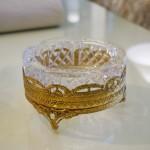 ゴールド&クリスタルガラス アシュトレー