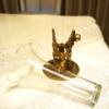 Stylebuilt製 ゴールド 2人の天使 エレガント フラワーベース 外した状態