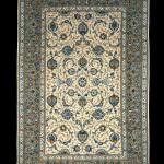 ペルシャ製 c1950 カシャーン 絨毯
