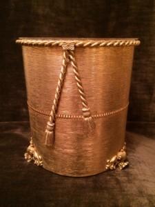 ロープデザインゴミ箱