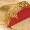 マトソン製 ゴールド フラワーブーケ ジュエリーボックス 裏側
