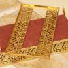 スタイルビルト製 ゴールド 天使 フラワー ティッシュボックス 裏側