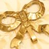 真鍮製 ゴールド リボン フック 裏側