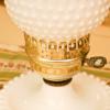 フェントン製 ホブネイルミルクグラス テーブルランプ 拡大