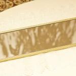 Sold:スタイルビルト製 ゴールド 長方形 バニティミラートレー