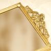 スタイルビルト製 ゴールド 長方形 バニティミラートレー 拡大