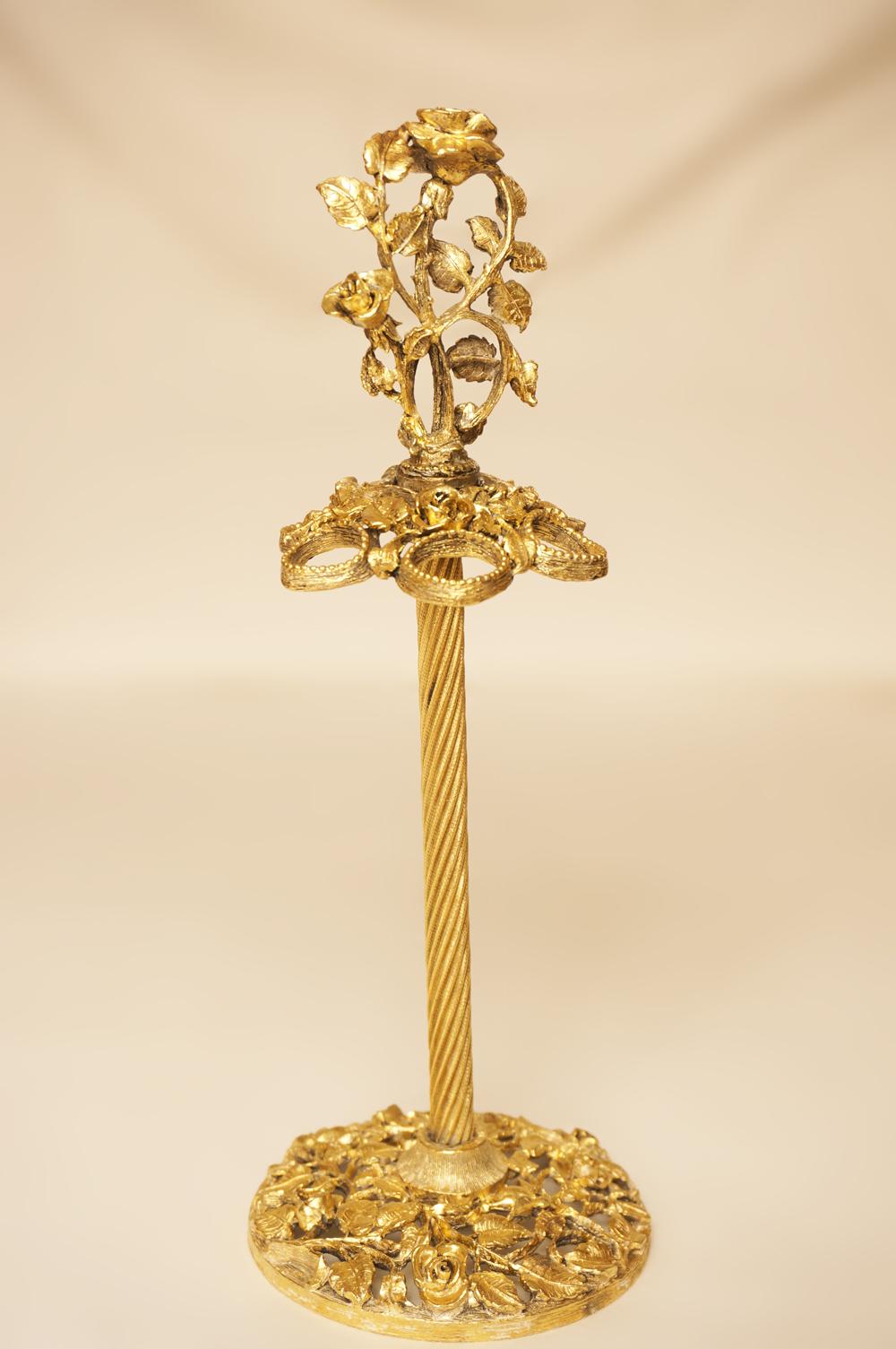 Sold:マトソン製 ゴールド ローズ トゥースブラシホルダー