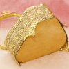 グローブ製 ゴールド 天使 トライアングル型 ジュエリーボックス 裏側
